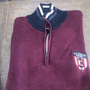 US Polo Assn. sweater worn only Twice